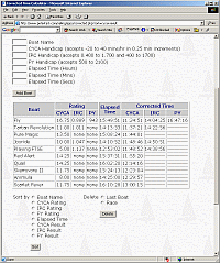 Screenshot of Corrected Time Calculator